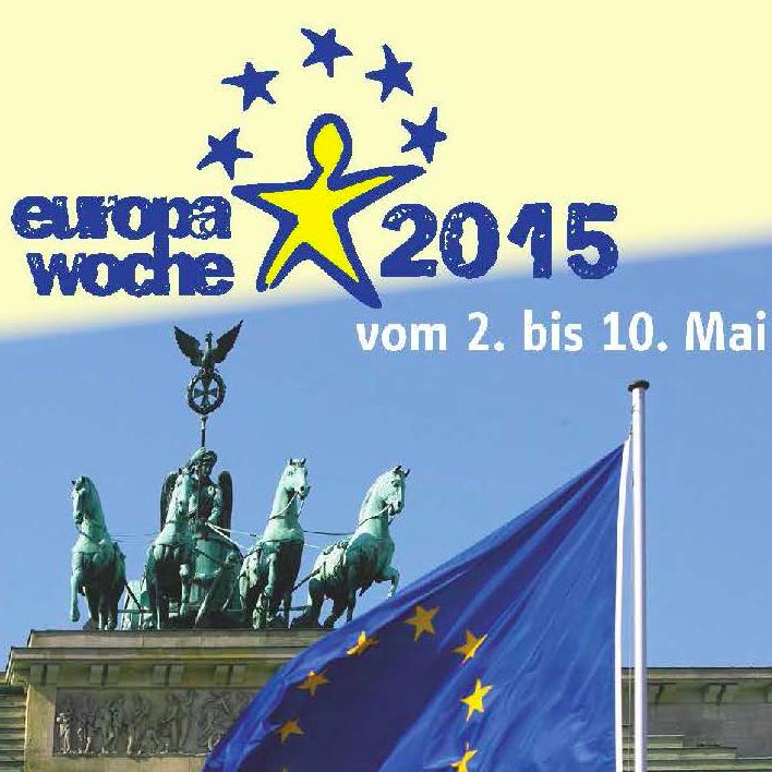 """Europa ist hier und mit uns allen! BürgerDialog & Lesungen"""" am 9. Mai 2015"""
