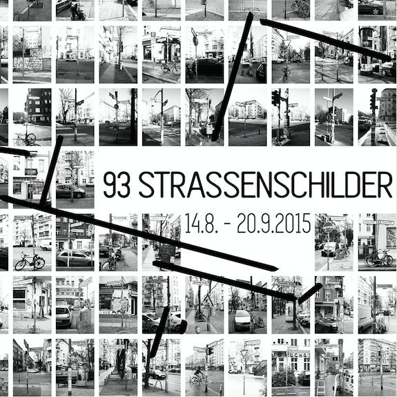 93 Straßenschilder – Polnische Straßen in Berlin
