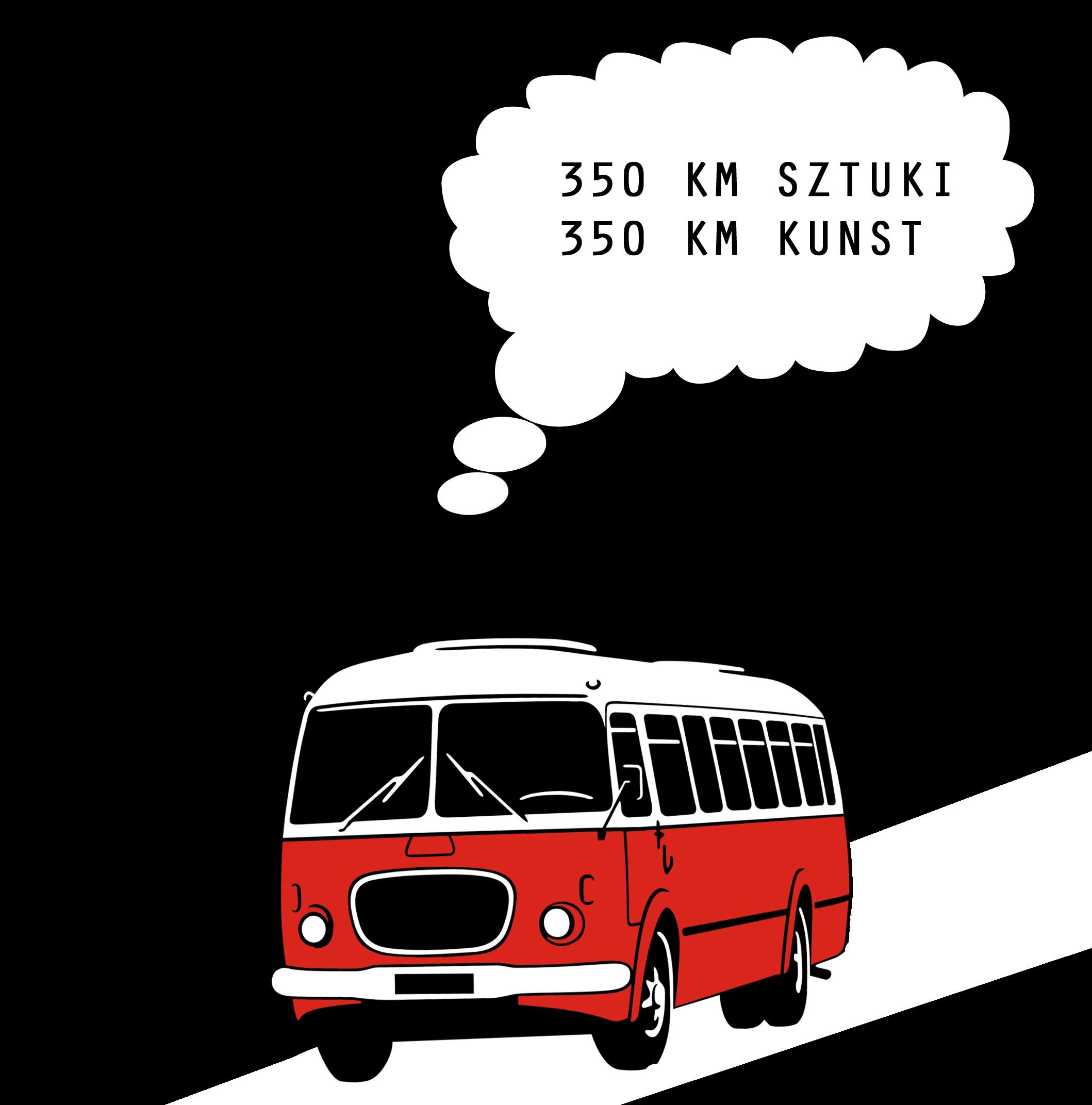 350 km Kunst